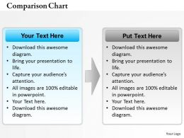 0314 Business Comparison Chart Text Layout