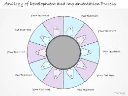 0314 Business Ppt Diagram 10 Stages Of Business Development Process Powerpoint Template
