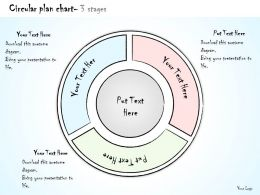 0314 Business Ppt diagram 3 Staged Circular Plan Chart Powerpoint Template