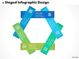 0314 Business Ppt Diagram 6 Staged Infographic Design Powerpoint Template