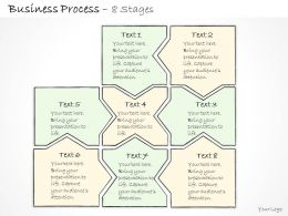 0314 Business Ppt Diagram 8 Staged Business Process Layout Powerpoint Template