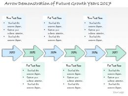 0314 Business Ppt Diagram Arrow Demonstration For Future Growth Powerpoint Template