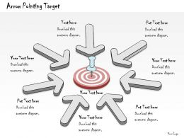 0314_business_ppt_diagram_arrow_pointing_on_target_powerpoint_template_Slide01