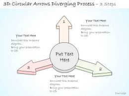 0314_business_ppt_diagram_arrows_diverging_from_circle_powerpoint_template_Slide01