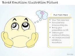 0314 Business Ppt diagram Bored Smiley And Emoticon Powerpoint Template