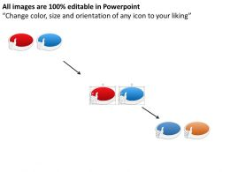 93346152 Style Variety 3 Thoughts 1 Piece Powerpoint Presentation Diagram Infographic Slide