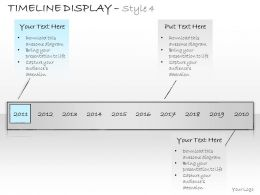 0314 Business Ppt Diagram Business Diagram For Timeline Display Powerpoint Template