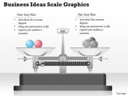 0314 Business Ppt Diagram Business Ideas Scale Graphics Powerpoint Template