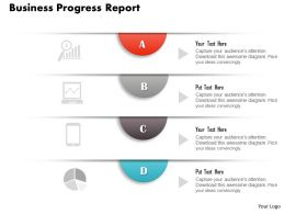 0314 Business Ppt Diagram Business Progress Report Powerpoint Template