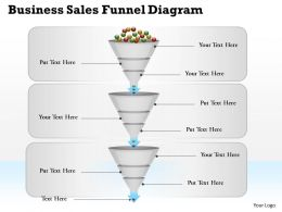0314 Business Ppt Diagram Business Sales Funnel Diagram Powerpoint Template