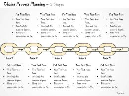 0314 Business Ppt diagram Chain Of Business Activities Powerpoint Template