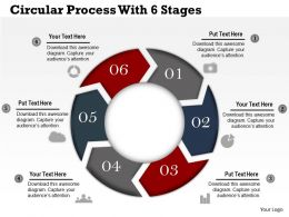 0314 Business Ppt Diagram Circular Process With 6 Stages Powerpoint Template