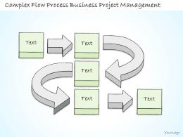 0314 Business Ppt diagram Complex Flow Of Business Project Powerpoint Template