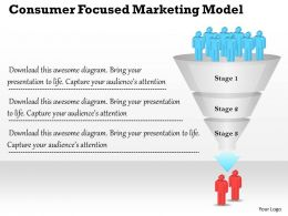 0314 Business Ppt Diagram Consumer Focused Marketing Model Powerpoint Template