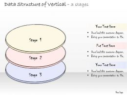 0314 Business Ppt diagram Data Structure Of Vertical Steps Powerpoint Template