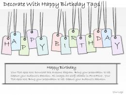 0314 Business Ppt Diagram Decorate With Happy Birthday Tags Powerpoint Templates