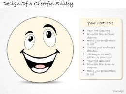 0314 Business Ppt diagram Design Of Happy Cheerful Smiley Powerpoint Template
