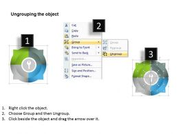 0314 Business Ppt Diagram Display Four Options For Business Success Powerpoint Template