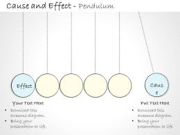 0314 Business Ppt diagram Effect That Causes A Pendulum Powerpoint Template