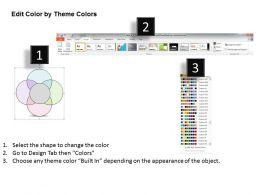 0314 Business Ppt Diagram Four Staged Business Venn Diagram Powerpoint Templates