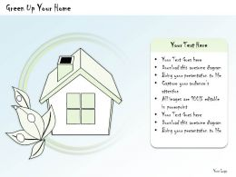 0314_business_ppt_diagram_green_up_your_home_powerpoint_template_Slide01
