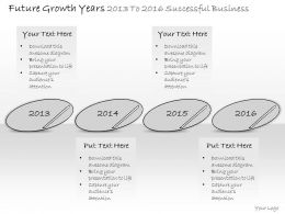 0314 Business Ppt Diagram Growth Planning For Upcoming Years Powerpoint Template