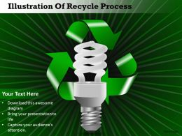 0314 Business Ppt Diagram Illustration Of Recycle Process Powerpoint Template