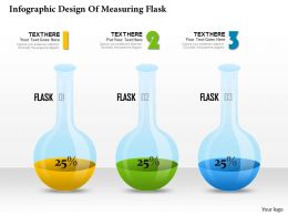 0314 Business Ppt Diagram Infographic Design Of Measuring Flask Powerpoint Template