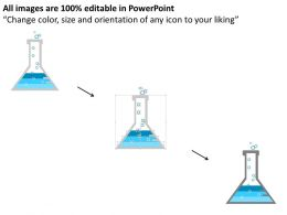 0314 Business Ppt Diagram Infographic Of Isometric Test Tube Powerpoint Template