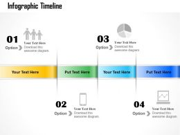 0314 Business Ppt Diagram Infographic Timeline Powerpoint Template
