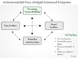 0314_business_ppt_diagram_interconnected_four_staged_diamond_diagram_powerpoint_templates_Slide02