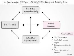 0314_business_ppt_diagram_interconnected_four_staged_diamond_diagram_powerpoint_templates_Slide03