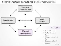 0314_business_ppt_diagram_interconnected_four_staged_diamond_diagram_powerpoint_templates_Slide04