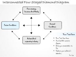 0314_business_ppt_diagram_interconnected_four_staged_diamond_diagram_powerpoint_templates_Slide05