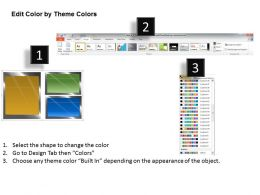 0314 Business Ppt Diagram Layout Of Three Horizontal Text Boxes Powerpoint Template
