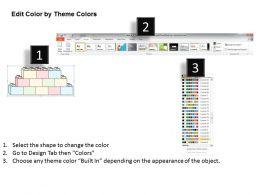0314 Business Ppt Diagram Lego Blocks Data Model Powerpoint Template
