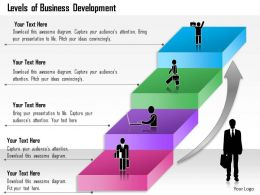 0314 Business Ppt Diagram Levels of Business Development Powerpoint Template