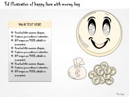 0314 Business Ppt Diagram Money Makes You Happy Powerpoint Template