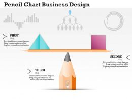 0314 Business Ppt Diagram Pencil Chart Business Design Powerpoint Template