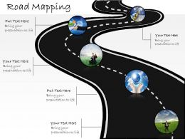 0314 Business Ppt Diagram Road Mapping For Strategy And Innovation Powerpoint Template
