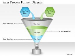 0314 Business Ppt Diagram Sales Process Funnel Diagram Powerpoint Template
