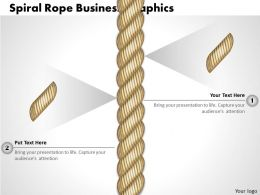 0314 Business Ppt Diagram Spiral Rope Business Graphics Powerpoint Template