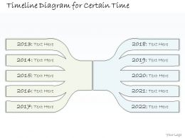 0314 Business Ppt Diagram Timeline Diagram For 10 years Powerpoint Template