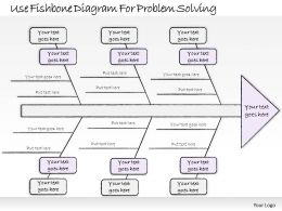 0314 Business Ppt Diagram Use Fishbone Diagram For Problem Solving Powerpoint Templates