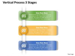 0314 Business Ppt Diagram Vertical Process 3 Stages Powerpoint Template