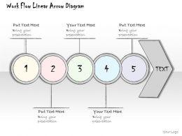 0314_business_ppt_diagram_workflow_linear_arrow_process_powerpoint_template_Slide01