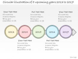 0314 Business Ppt Diagram Yearly Planning Of Business Events Powerpoint Template