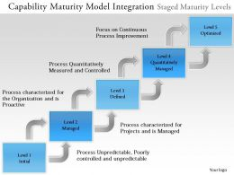 0314 Capability Maturity Model Integration Powerpoint Presentation