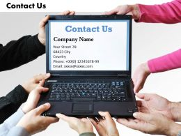 0314 Contact Information On Laptop