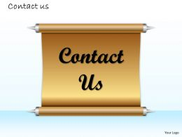 0314 Contact Us Information Slide